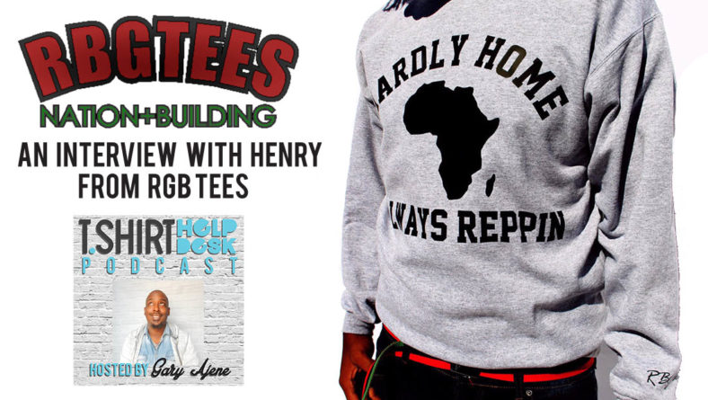 Interview with Henry from RBG Tees
